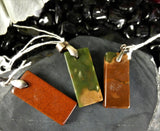 Jasper Sterling Silver Pendants (various)