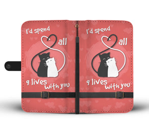 Lover Cats Wallet Phone Case