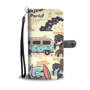 Bonjour Paris Wallet Phone Case