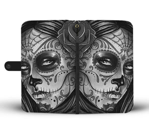 Calavera Girl Design 7 Wallet Phone Case
