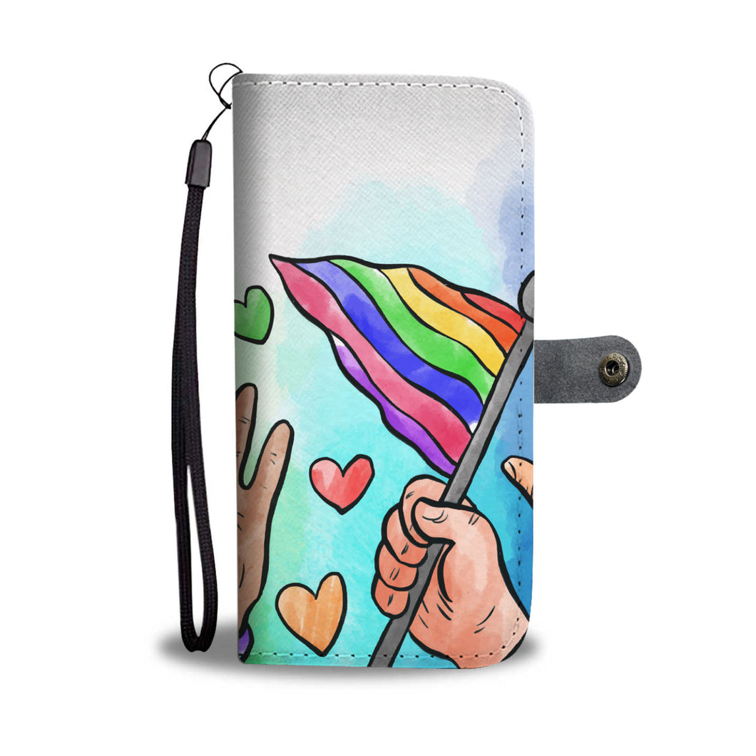 Rainbow PRIDE Wallet Phone Case