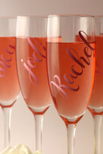 Personalised Champagne Flute Glass