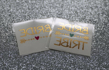 Metallic Gold Bachelorette Tattoos