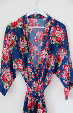 Amelia Floral Cotton Robe