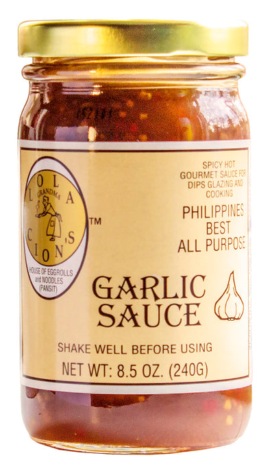 Lola Cion's Garlic Sauce 8.5 oz. | Bold Sweet & Spicy Flavor | Free Shipping in the  U.S.