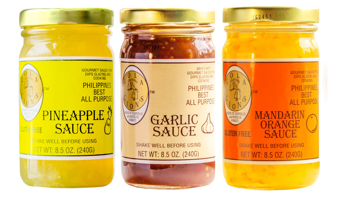 Lola Cion's Gourmet Sauces | Variety Pack 8.5 oz | 3 Pack Bottles | Free Shipping in the U.S.