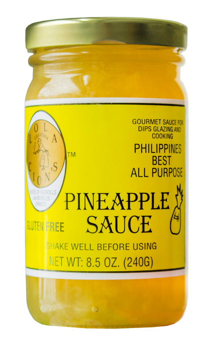 Lola Cion's Pineapple Sauce 8.5 oz. Bottle |  Free Shipping in the U.S.