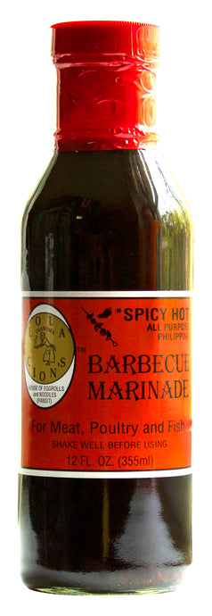 *Coming Soon* Lola Cion's Spicy BBQ Marinade, 12 oz. Bottle | Free Shipping in the U.S.