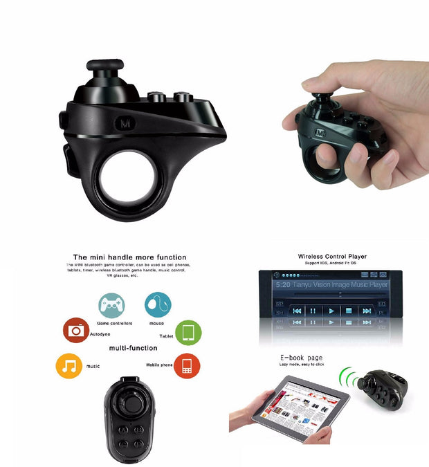 Bluetooth Wireless Mini Mobile Joystick Android Gamepad RV Controller