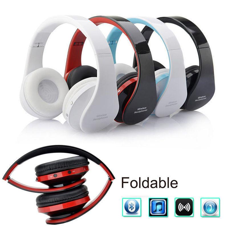 Portable Wireless Bluetooth Headset Stereo Music