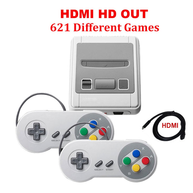 HDMI RETRO CONSOLE 621 GAMES