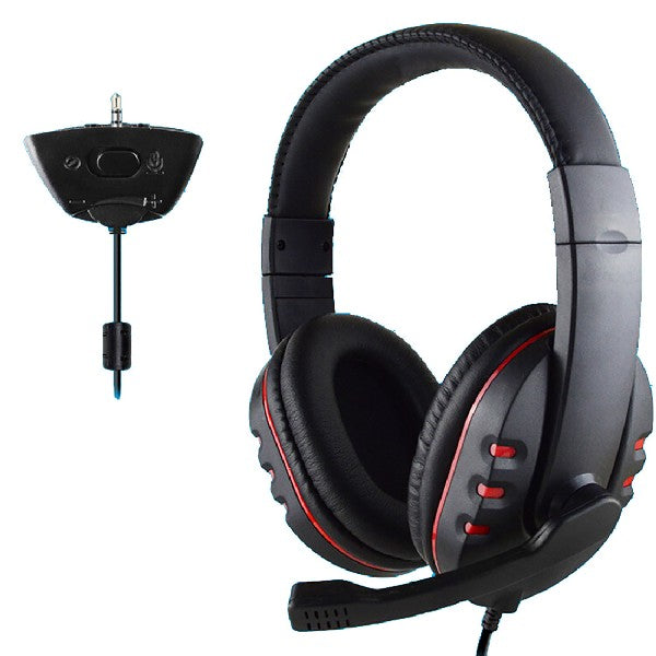 Gamer Over-ear Headphone with Mic Stereo Bass