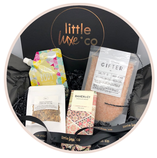 Personalised Bespoke Gift Boxes Australia Little Luxe Co