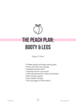 The Peach Plan: Booty & Legs