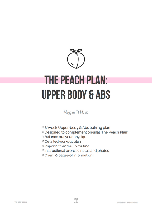 The Peach Plan: Upper Body & Abs