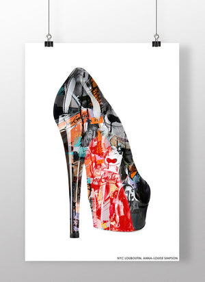 NYC Louboutin | Anna-Louise Simpson | art prints