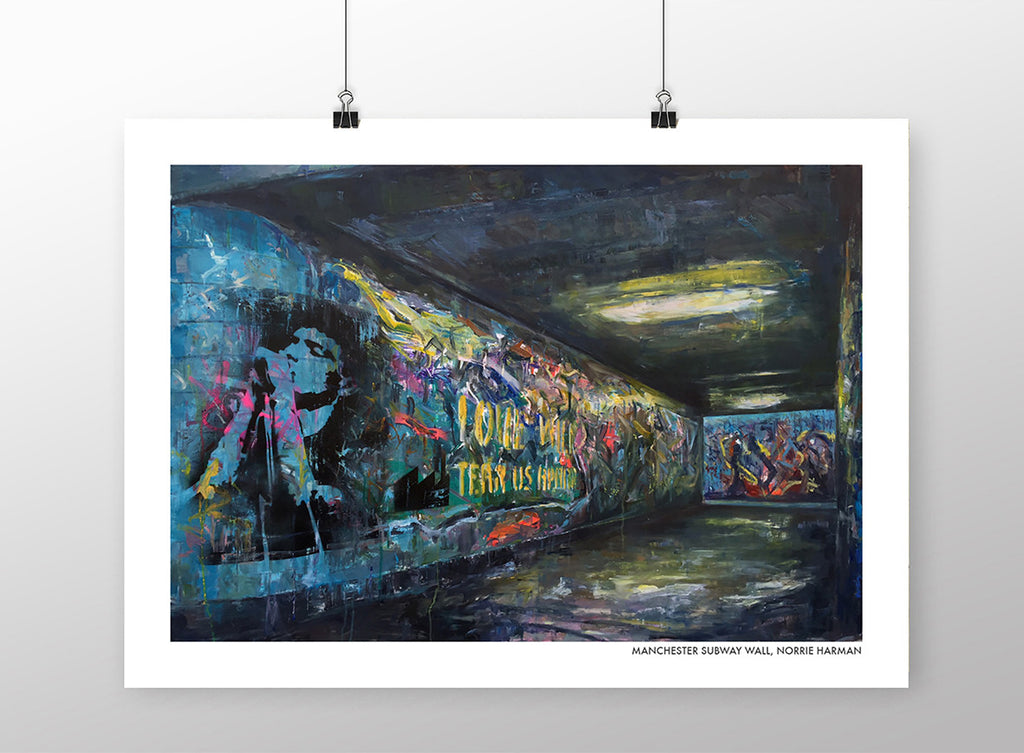 Manchester Subway Wall - Norrie Harman