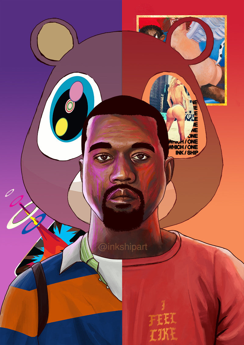 91581 additionally Kanye West Art Print besides Bart And Homer Simpson Are Major Sneakerheads as well Hypebeast Wallpaper besides Gallery. on yeezy bape cartoon wallpapers