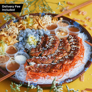 Multiple Location Delivery - Lo Hei Platter for 10 pax (min 6 platters)