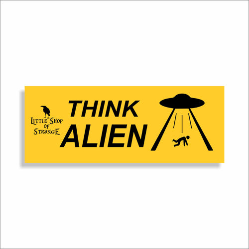 'Think' Car Stickers
