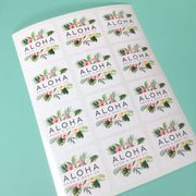 Square Sheet Labels