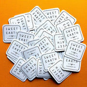 Custom square stickers and labels with your own design