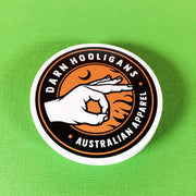 Full Colour detailed custom circle stickers printed on vinyl for your apparel e-commerce stores