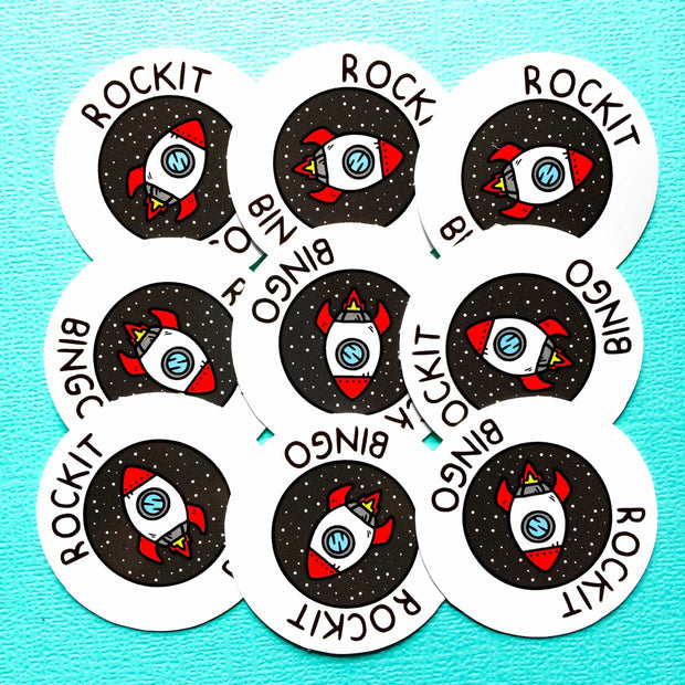 Design your own circle stickers