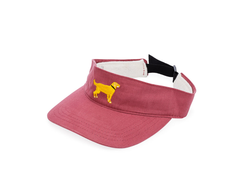 Yellow Dog® Classic Visor Nantucket Red
