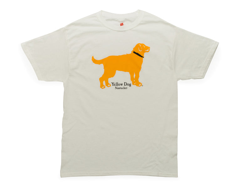 Yellow Dog Classic White T-shirt