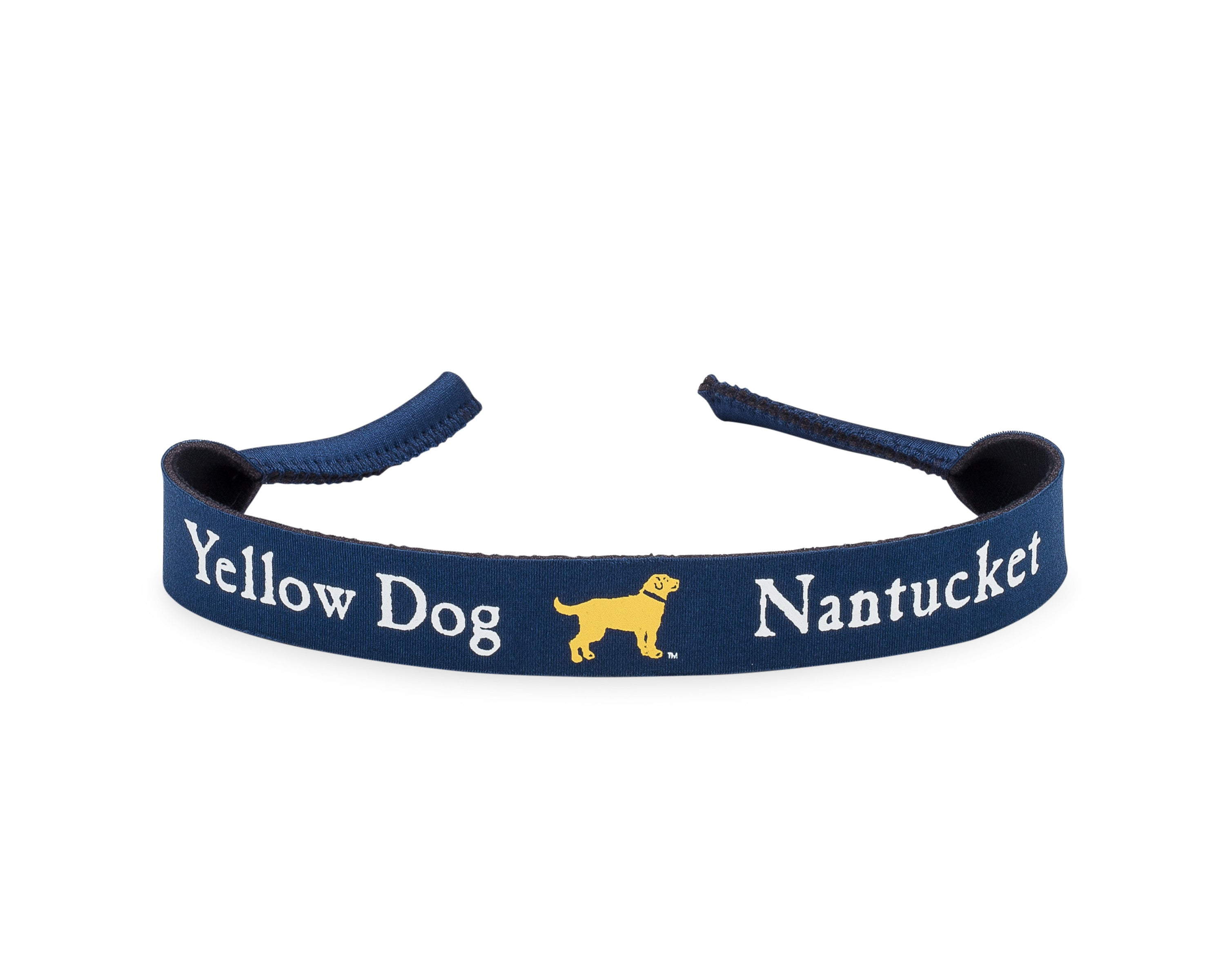 Yellow Dog Nantucket Navy Sunglass Strap Croakie