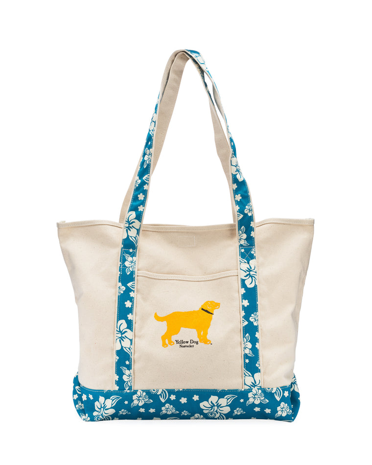 Yellow Dog Nantucket Boat Tote Bag