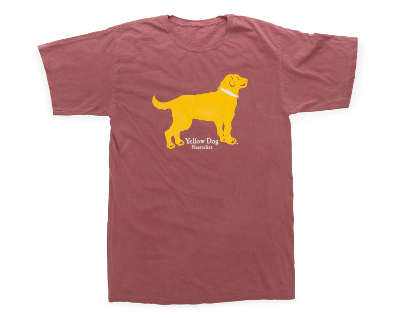 Yellow Dog Classic Short Sleeve t-shirt Nantucket Red