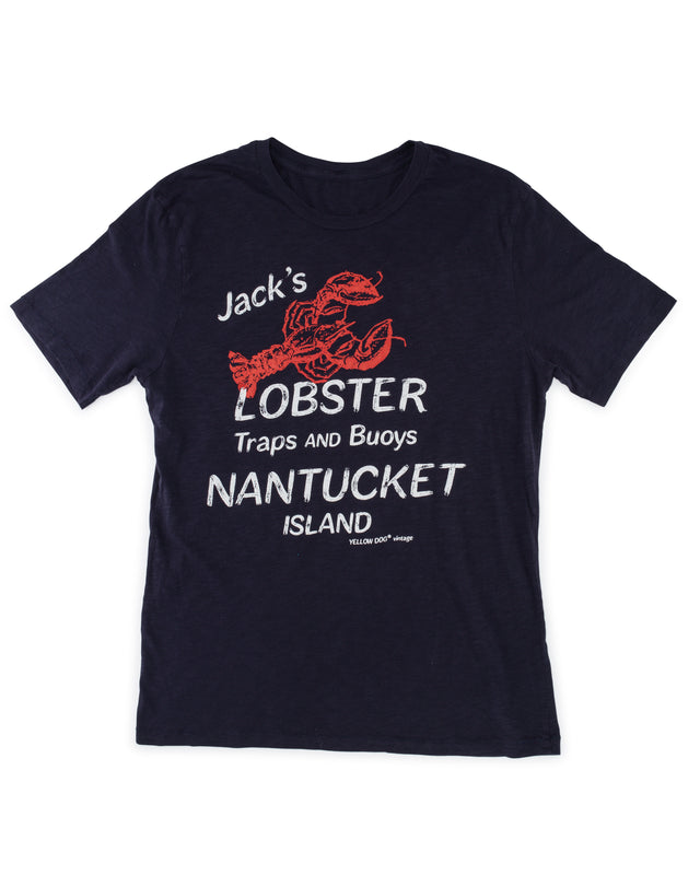 Yellow Dog® Jack's Lobster Salt Water Washed t-shirt