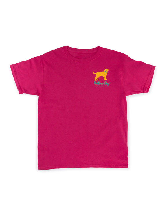 Women's Short Sleeve t-shirt Yellow Dog Collection: Sweet Tea