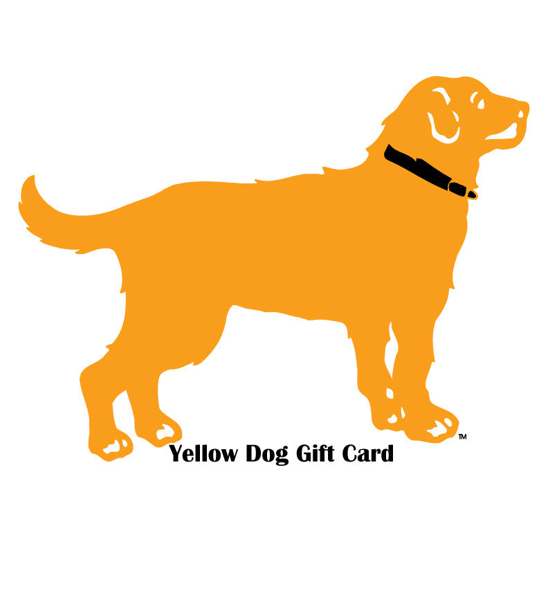 Yellow Dog Gift Card