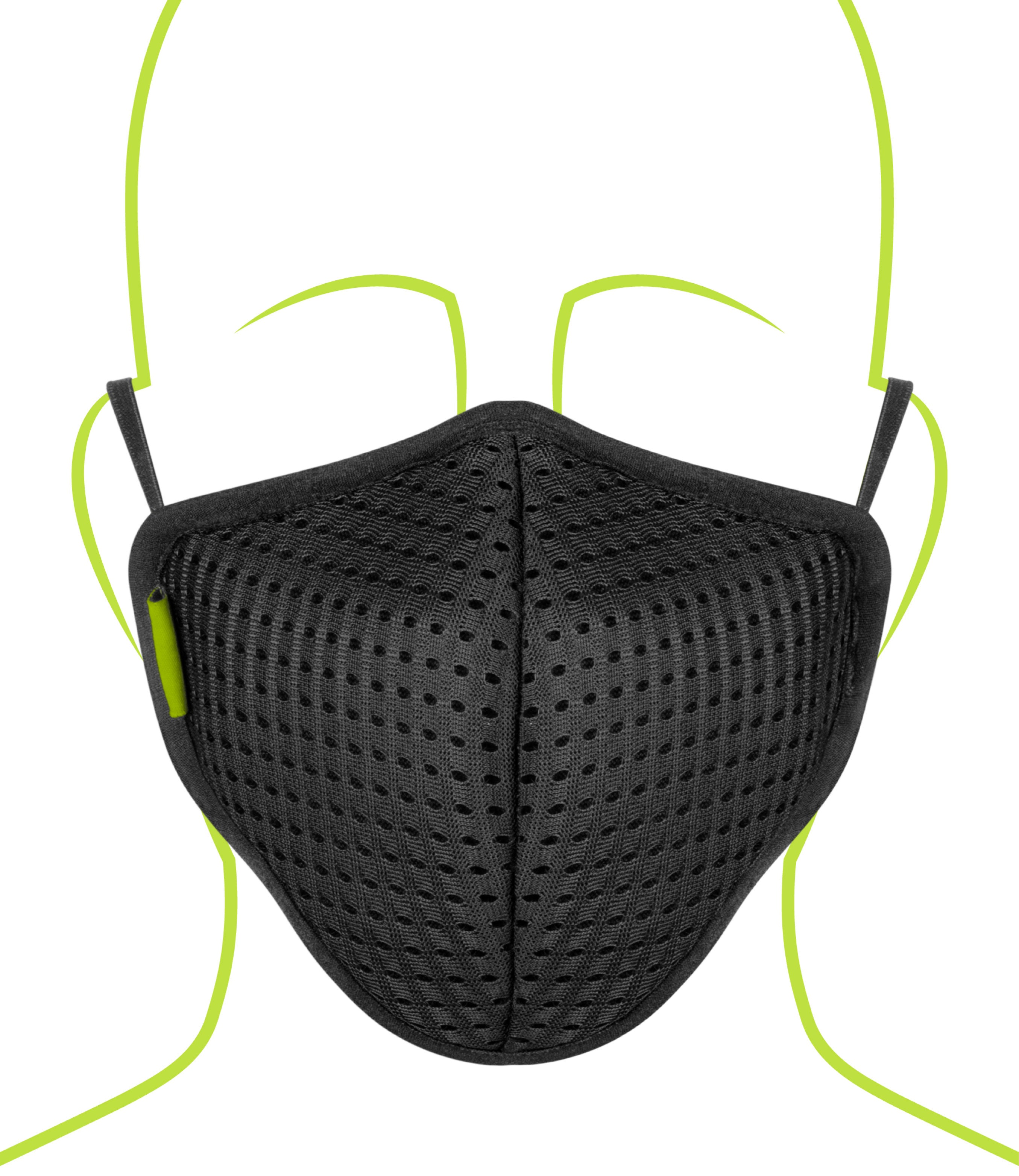 Defender Pro R95 Mask - Pack of 3