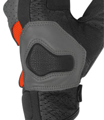 Rynox Air GT Gloves Grey Orange 3