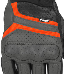 Rynox Air GT Gloves Grey Orange 6