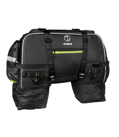 Rynox Grab Hybrid Tail Bag Black 1