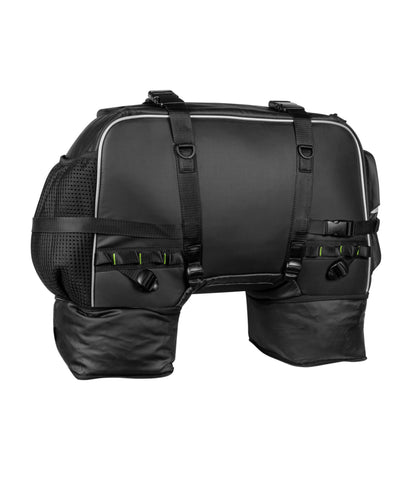 Rynox Grab Hybrid Tail Bag Black 2
