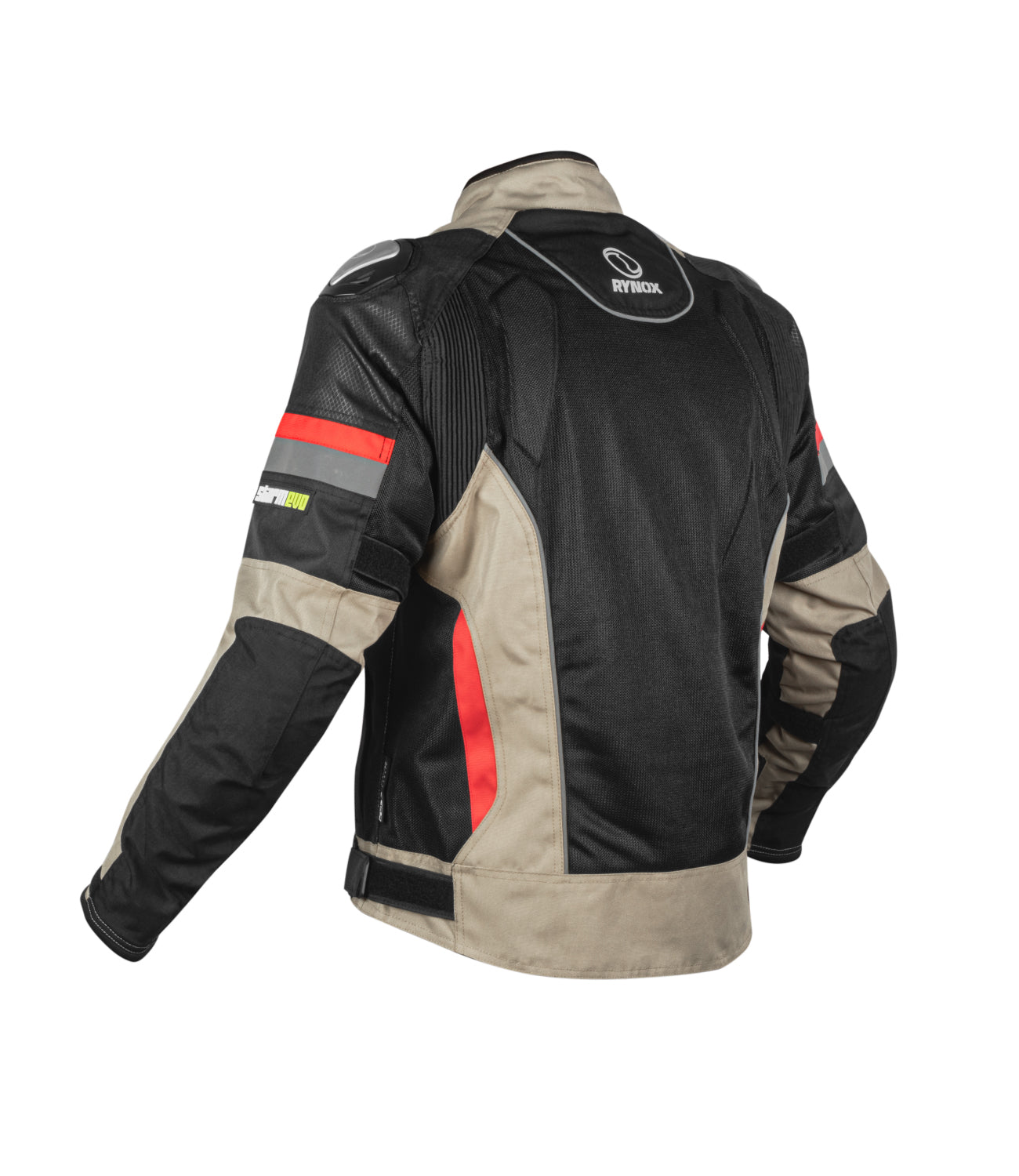 Rynox Storm Evo Jacket Black Sand Brown 2