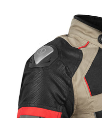 Rynox Storm Evo Jacket Black Sand Brown 3