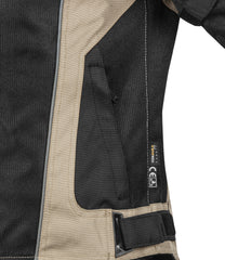 Rynox Storm Evo Jacket Black Sand Brown 5