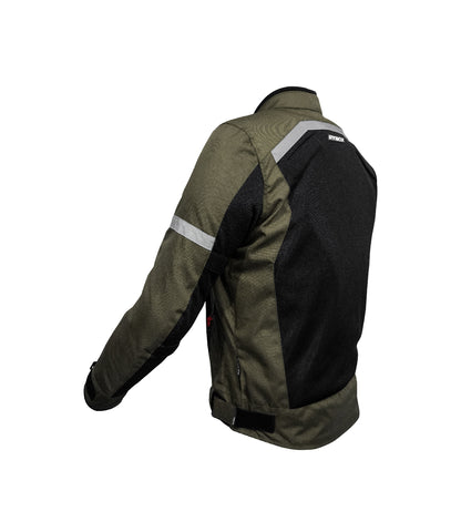 Rynox Urban Jacket Battle Green 02