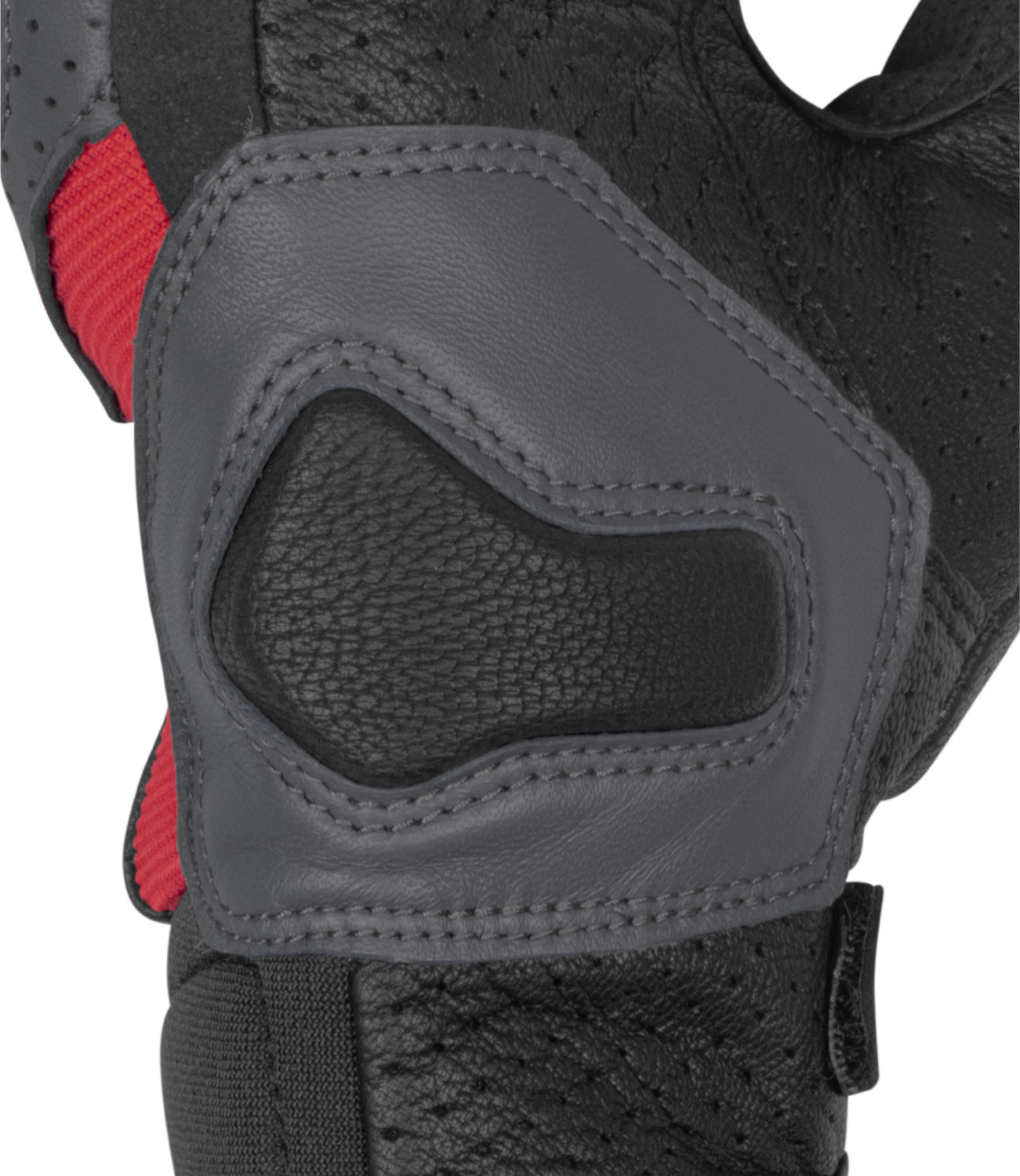 Rynox Air GT Gloves Grey Red 04