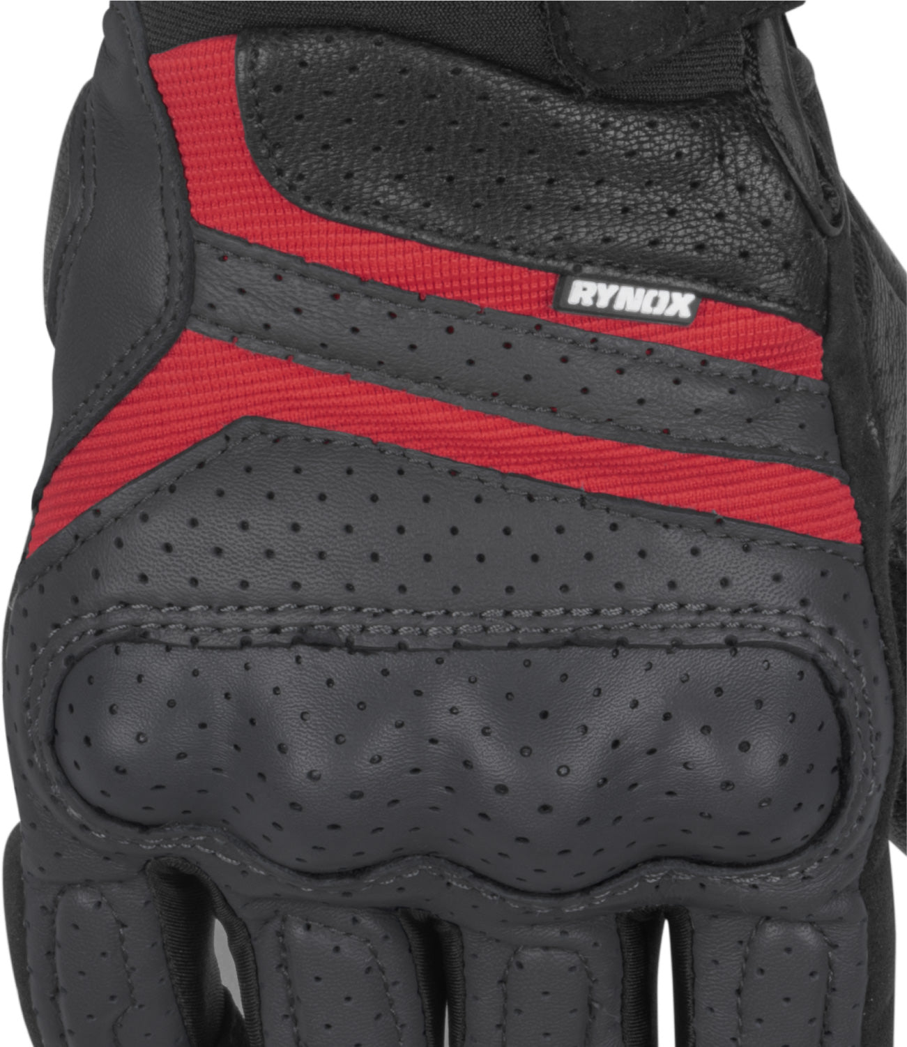 Rynox Air GT Gloves Grey Red 07