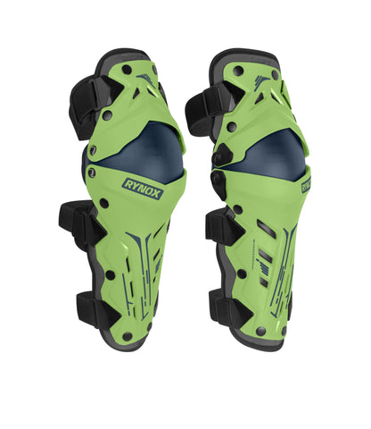 Rynox Bastion Knee Guards Green 01