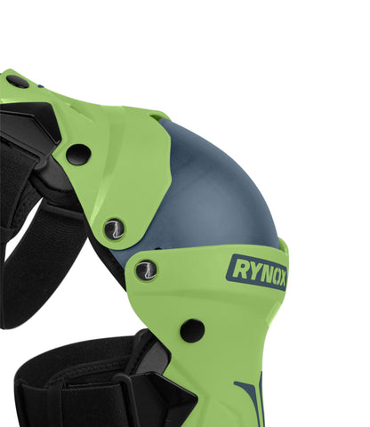 Rynox Bastion Knee Guards Green 02