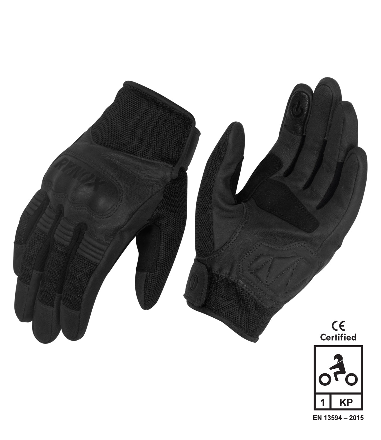 Rynox Urban Gloves Black 1
